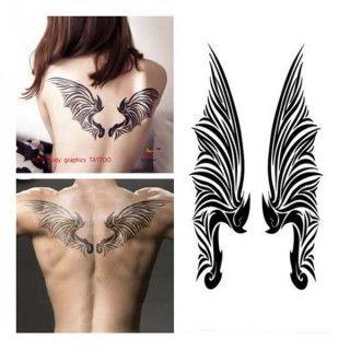 Bedeutung engelsflügel tattoo Angel Tattoo: